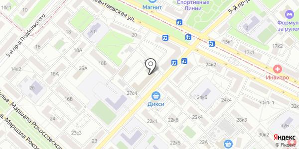 СИ-ЛАБ. Схема проезда в Москве