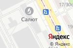 Схема проезда до компании Гранит в Москве