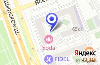 Схема проезда до компании ЮККОН в Москве