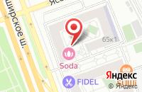 Схема проезда до компании Строительный Альянс в Москве