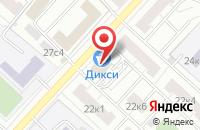 Схема проезда до компании Дивопром в Москве