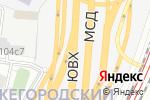 Схема проезда до компании Высокие Технологии в Промышленности в Москве