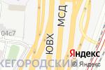 Схема проезда до компании VD promo в Москве
