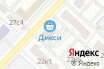 Схема проезда до компании ProfiLine в Москве
