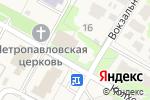 Схема проезда до компании Павловская сельская библиотека в Павловском