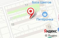Схема проезда до компании Вьюга в Москве