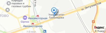 Green Lane на карте Москвы