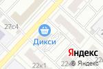 Схема проезда до компании Сад Парк Строй в Москве