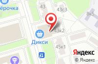 Схема проезда до компании Эники в Москве