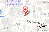 Схема проезда до компании Технологии Защиты в Москве