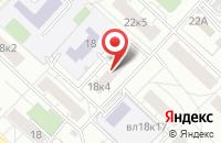 Схема проезда до компании Комтех в Москве