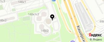 Мега Авто Голд на карте Москвы