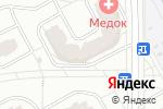 Схема проезда до компании Smoke Xana в Видном