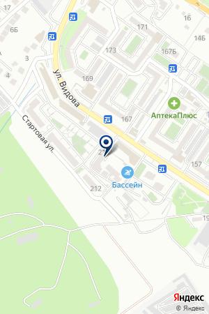 СТРОИТЕЛЬНАЯ ФИРМА АПИС-СТРОЙ на карте Новороссийска