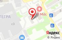 Схема проезда до компании Гамма-Групп в Домодедово