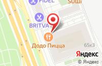 Схема проезда до компании Атп Мега-Транс в Москве
