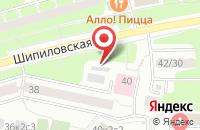 Схема проезда до компании Многопрофильное Полиграфическое Предприятие «Раперс» в Москве