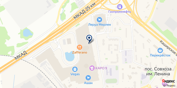 Aksses на карте Москве