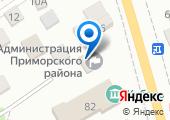 Отделение полиции по Приморскому району на карте