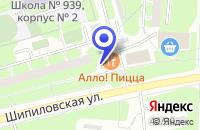 Схема проезда до компании ОДС № 418 в Москве
