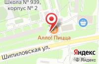 Схема проезда до компании Кристалл Групп в Москве