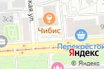 Схема проезда до компании Династiя в Москве