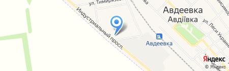 Управление ветеринарной медицины в Ясиноватском районе на карте Авдеевки