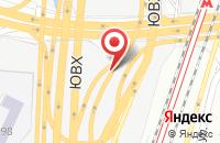 Схема проезда до компании Добрый Дизайн в Москве