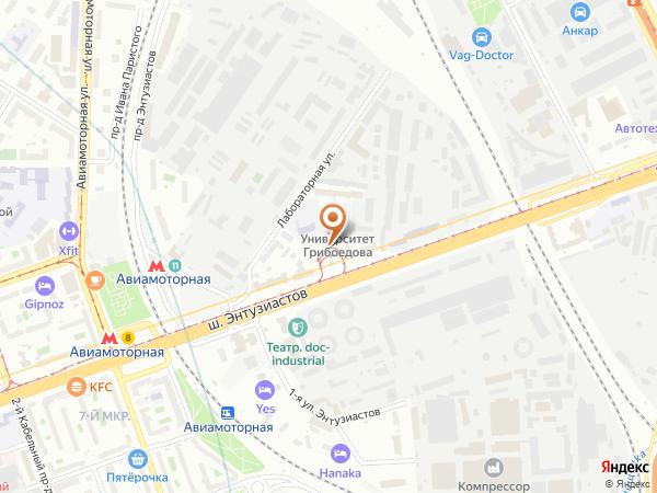 Остановка «Пр. Энтузиастов», шоссе Энтузиастов (1001697) (Москва)