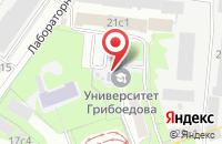 Схема проезда до компании Абу-Строй в Москве