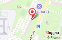 Схема проезда до компании Продуктовый магазин в Надежде