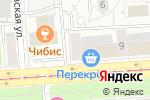 Схема проезда до компании Ладомед в Москве