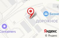 Схема проезда до компании Инфорком в Долматово