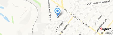 Донецкая общеобразовательная школа I-III ступеней №50 на карте Донецка