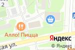 Схема проезда до компании Аквапункт в Москве