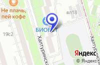 Схема проезда до компании АПТЕЧНЫЙ ПУНКТ ПАНАЦЕЯ в Москве