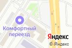 Схема проезда до компании Bro.taxi в Москве