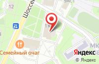 Схема проезда до компании Бисолт-К в Москве