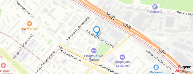 проезд Подбельского 4-й