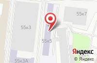 Схема проезда до компании Интел Строй Груп в Москве