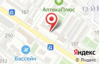 Схема проезда до компании Информационное Дело в Новороссийске
