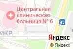 Схема проезда до компании Детская городская поликлиника №61 в Москве