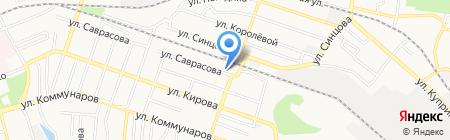 Мастерская художественной ковки на карте Донецка