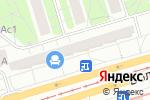 Схема проезда до компании Стильные кухни в Москве