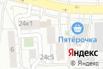 Схема проезда до компании ТОРИ в Москве
