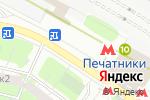 Схема проезда до компании Магазин выпечки в Москве