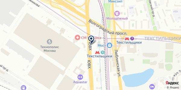 Чебуречная на карте Москве