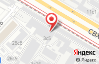 Схема проезда до компании Трап в Москве