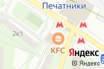 Схема проезда до компании ApplePro в Москве