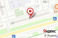 Схема проезда до компании Полярис-Снаб в Москве